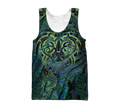 Maori hei matau paua shell 3d all over printed shirt and short for man and women-Apparel-PL8386-Tank top-S-Vibe Cosy™