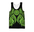 Amazing Polynesian Tattoo Green Hoodie-ML-Apparel-ML-Tank Top-S-Vibe Cosy™