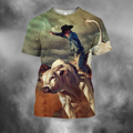 3D All Over Print Professional Bull Riders 3-Apparel-PHLong-T-Shirt-S-Vibe Cosy™