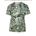 3D All Over Printed Camo Duck Hunting Shirts-Apparel-HbArts-T-Shirt-S-Vibe Cosy™