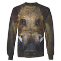 3D All Over Print Hunting Wild Boar Hoodie-Apparel-6teenth World-Sweatshirt-S-Vibe Cosy™