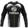 Tonga Coat Of Arms Zipper Hoodie - Sport Style NNK 1222-Apparel-NNK-Zipped Hoodie-S-Vibe Cosy™