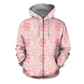 3D All Over Best Mom Ever Hoodie-Apparel-Khanh Arts-Zipped Hoodie-S-Vibe Cosy™