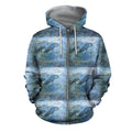 3D All Over Best Mother Dolphin Hoodie-Apparel-Khanh Arts-Zipped Hoodie-S-Vibe Cosy™