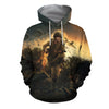 3D All Over Printed 101st airborne WW2 Clothes-Apparel-HP Arts-Hoodie-S-Vibe Cosy™