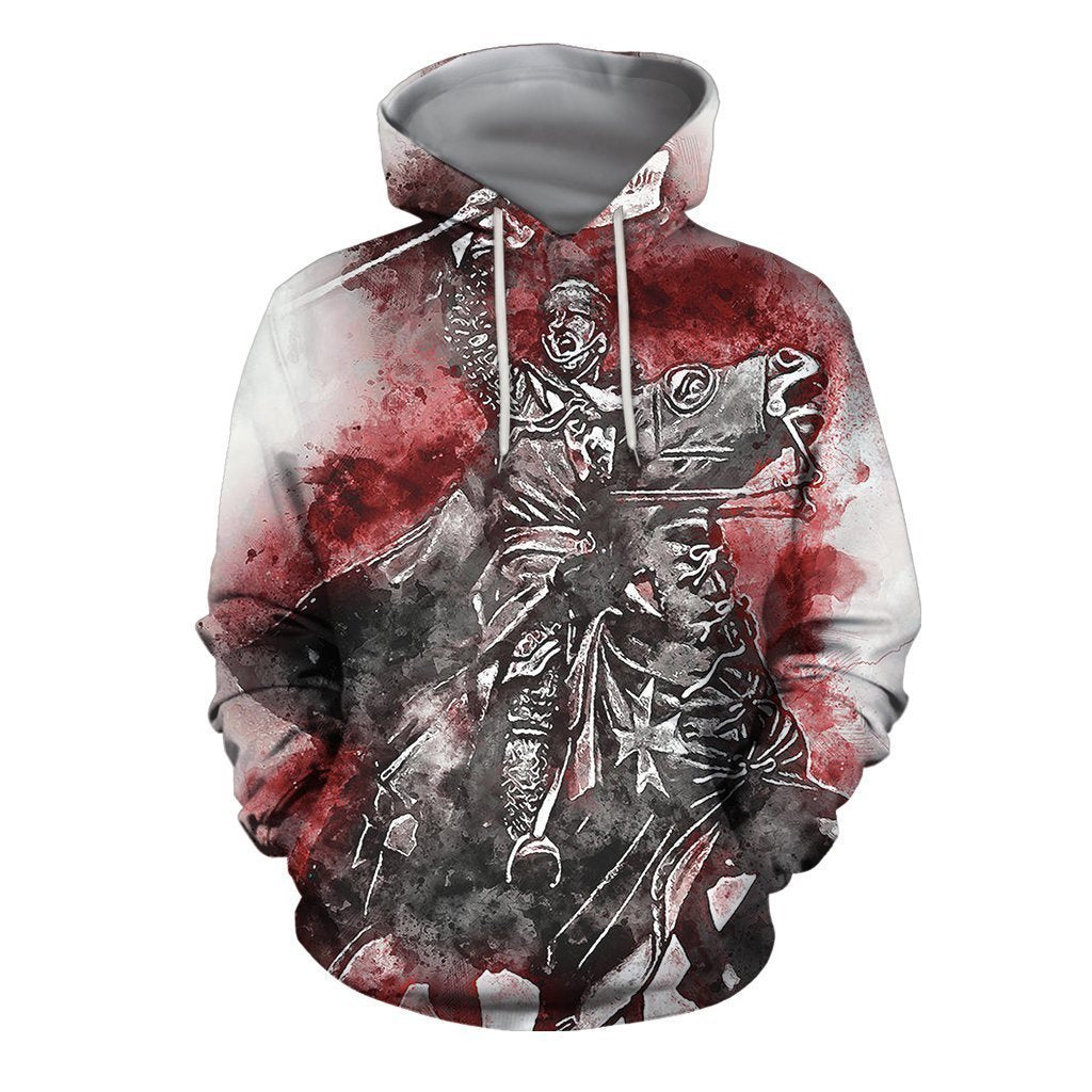 3D All Over Printed Templar Shirts-Apparel-HP Arts-Hoodie-S-Vibe Cosy™