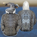 3D All Over Printed Royal Goose Shirts-Apparel-HP Arts-ZIPPED HOODIE-S-Vibe Cosy™