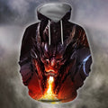 3D All Over Print Dragon With Fire Shirts-Apparel-Phaethon-Zip-S-Vibe Cosy™