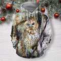 3D All Over Print Owl Shirts-Apparel-Phaethon-Zip-S-Vibe Cosy™