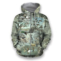 3D All Over Printed Camo Duck Hunting Shirts-Apparel-HbArts-Zip-Hoodie-S-Vibe Cosy™