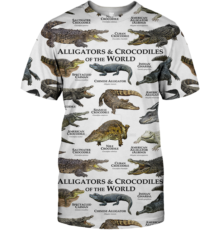 3D All Over Print Alligator & Crocodile Hoodie-Apparel-6teenth World-T-Shirt-S-Vibe Cosy™