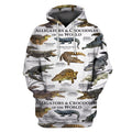 3D All Over Print Alligator & Crocodile Hoodie-Apparel-6teenth World-Hoodie-S-Vibe Cosy™