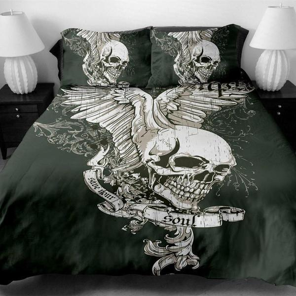 The Soul Bedding Set Cover-Bedding Set-6teenth Outlet-US Twin-Vibe Cosy™