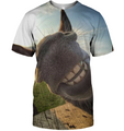 3D All Over Print Donkey Face Shirt-Apparel-6teenth World-T-Shirt-S-Vibe Cosy™