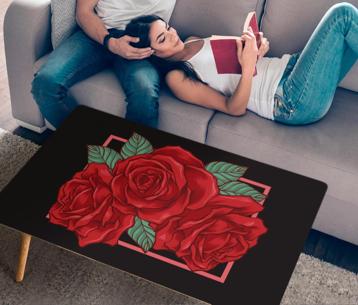 Roses table-Amaze Style™-Coffee Table - Roses table-One Size-Vibe Cosy™