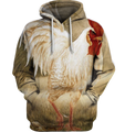 3D All Over Print Painting Rooster Shirt-Apparel-6teenth World-Hoodie-S-Vibe Cosy™
