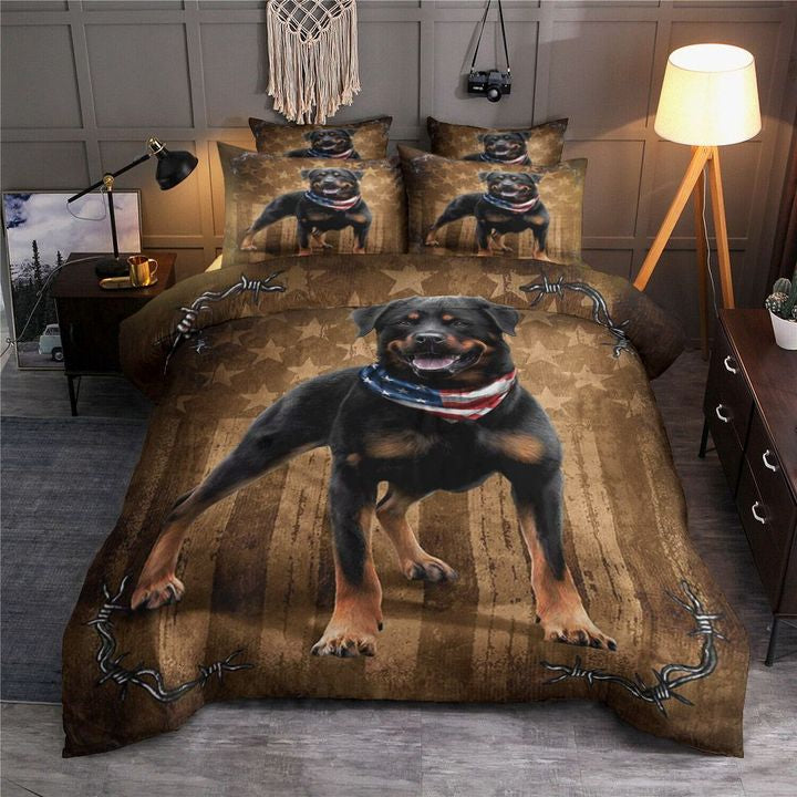 Rottweiler bedding set HG71700-Bedding Set-HG-Twin-Vibe Cosy™