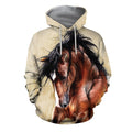 3D All Over Printed Horse painting Clothes-Apparel-HP Arts-Hoodie-S-Vibe Cosy™