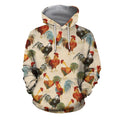 3D All Over Printed Chicken Farming Clothes-Apparel-6teenth World-Hoodie-S-Vibe Cosy™