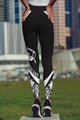 New Zealand Maori Pattern High Waist Leggings NVD-Apparel-Dung Van-Legging-S-Vibe Cosy™