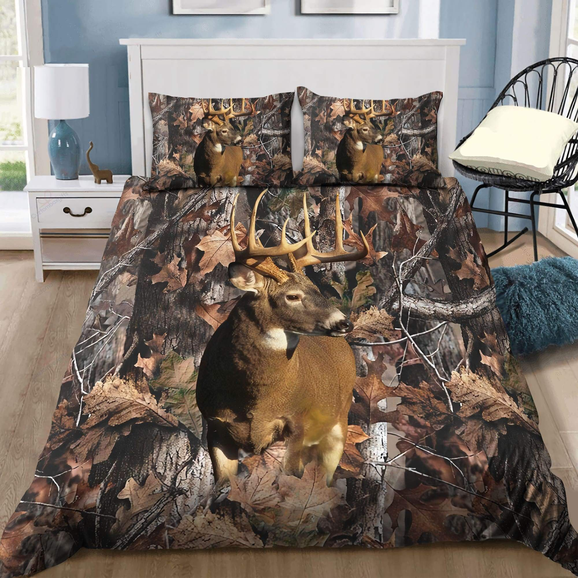 Deer and Deer Hunting bedding set MH150820S