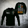 Irish St.Patrick day 3d hoodie shirt for men and women MH3010204S