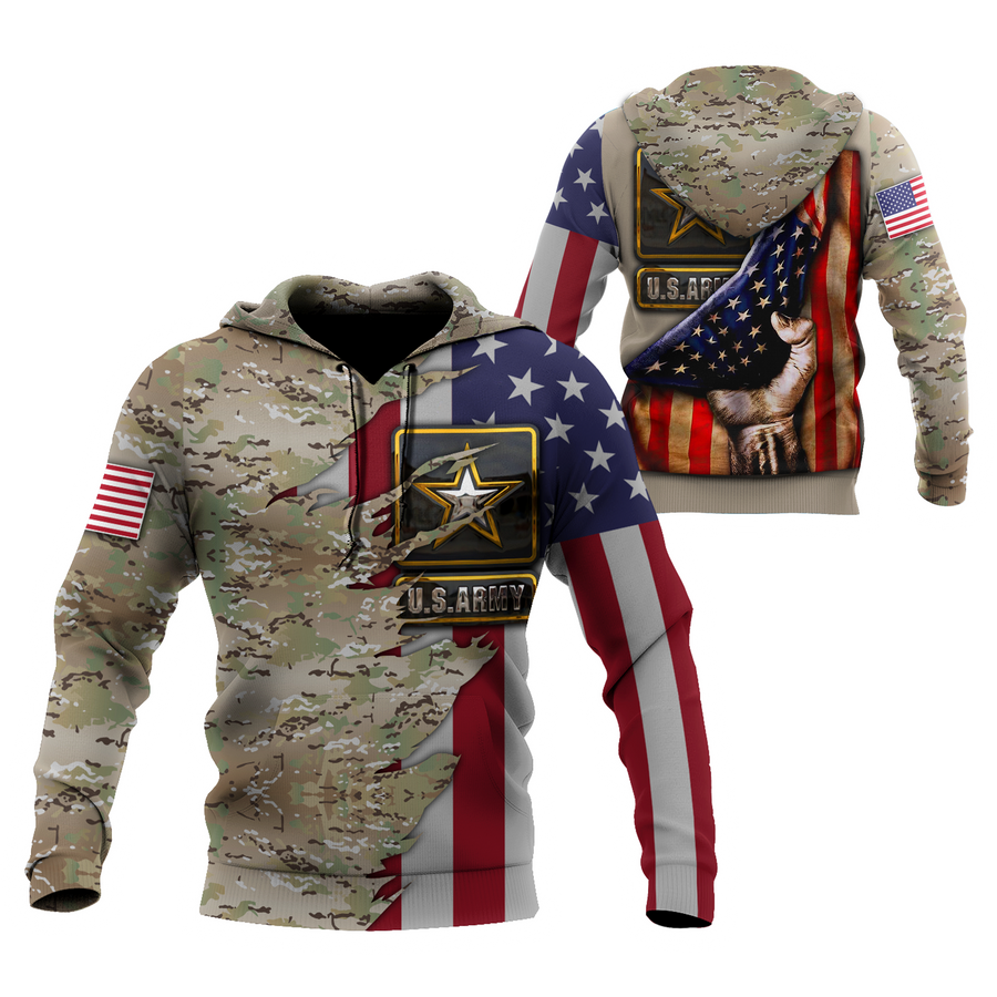 US Army 3D All Over Printed Shirts  MH1210201