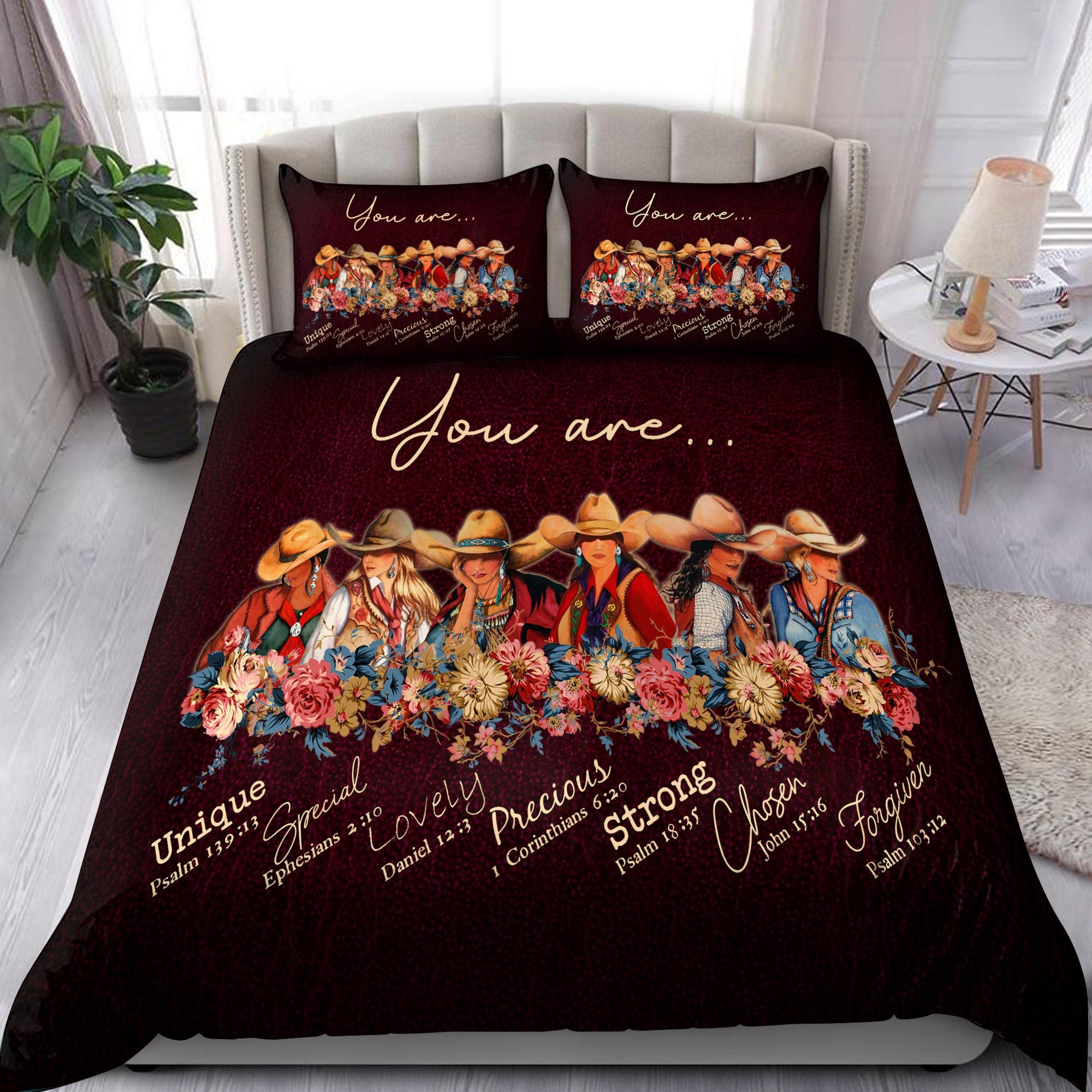 Cowgirl-Gods Say You Are Bedding Set Pi31072001