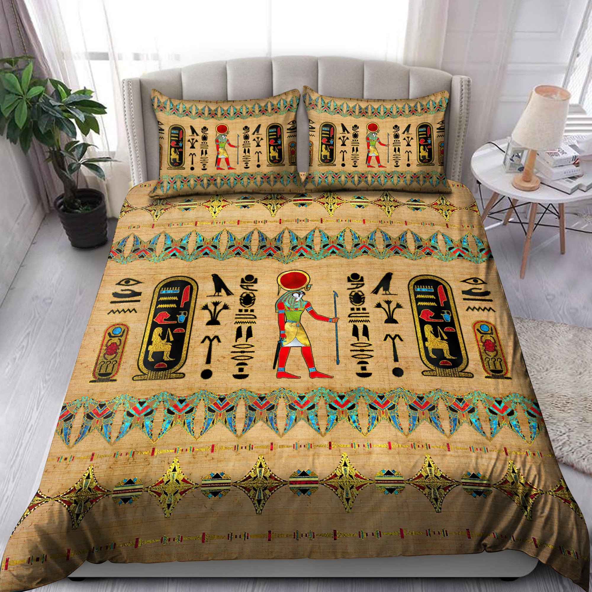 Ancient Egyptian Bedding Set Pi01072004-Bedding-MP-Twin-Vibe Cosy™