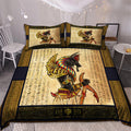 Ancient Egyptian Anubis Bedding Set Pi03072005-Bedding-MP-Twin-Vibe Cosy™