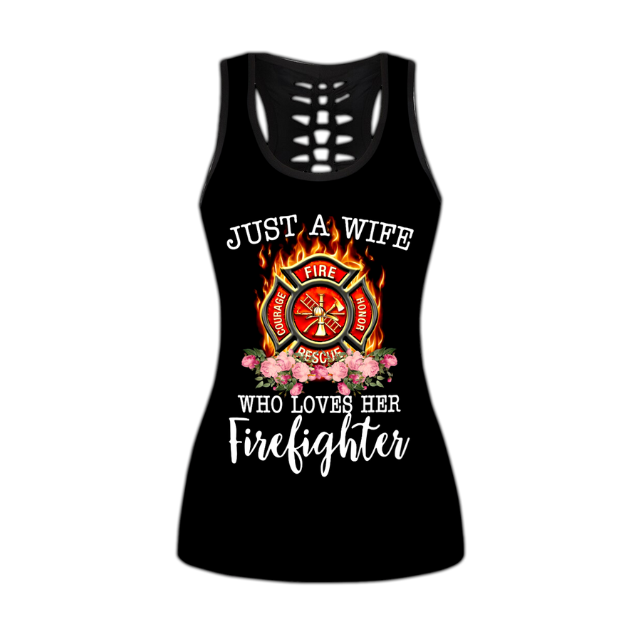 Firefighter Wife Combo Tank + Legging DD09042001