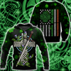 Irish St.Patrick day 3d hoodie shirt for men and women DD11032003