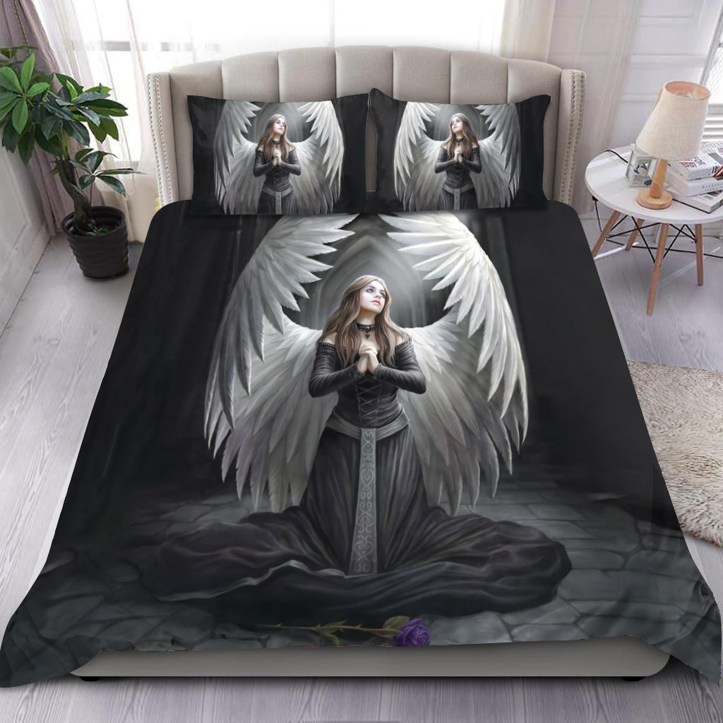 Angel & Demon Gothic Art Bedding Set HAC110701-NM-Bedding Set-NM-Twin-Vibe Cosy™