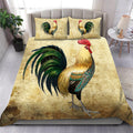 Chicken Art Bedding Set HAC110704-NM-Bedding Set-NM-Twin-Vibe Cosy™