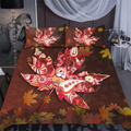 Canada Maple Leaf Bedding Set-ML-ML-US Twin-Vibe Cosy™
