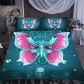 Beautiful butterfly bedding set-ML-ML-US Twin-Vibe Cosy™