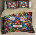 Skulls Hippie Bedding Set QB07072001-TQH-BEDDING SETS-TQH-Twin-Vibe Cosy™
