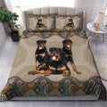 Rottweiler bedding set HAC170702S-HG-Bedding Set-HG-Twin-Vibe Cosy™