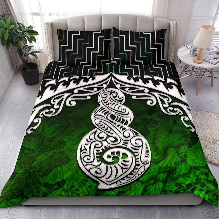 New Zealand Maori Twist Poutama Bedding Set MP13072010