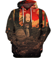 3D All Over Print Noface 03 Shirt-Apparel-HbArts-Hoodie-S-Vibe Cosy™