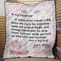 To My Son - Love, Mom Quilt Pi19082001-LAM