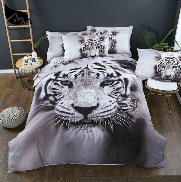 Tiger Power Bedding Set SU160703-Quilt-SUN-King-Vibe Cosy™