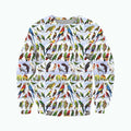 3D All Over Printed Parrots Shirts-Apparel-6teenth World-Sweatshirt-S-Vibe Cosy™