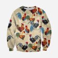 3D All Over Printed Chicken Farming Clothes-Apparel-6teenth World-Sweatshirt-S-Vibe Cosy™