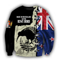 New Zealand Kiwi Bird Silver Fern T-Shirt Hoodie Zip all over shirts For Men and Women TR281203-Apparel-PL8386-Sweat Shirt-S-Vibe Cosy™