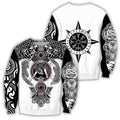 All Over Printed Viking Tattoo Shirts-Apparel-HP Arts-SweatShirt-S-Vibe Cosy™