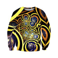 3D All Over Print Horus Eyes Motif Hoodie-Apparel-Khanh Arts-Sweat Shirt-S-Vibe Cosy™