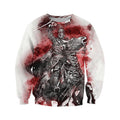 3D All Over Printed Templar Shirts-Apparel-HP Arts-Sweatshirt-S-Vibe Cosy™