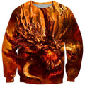 3D All Over Print Dragon Head Hoodie-Apparel-Phaethon-Sweatshirt-S-Vibe Cosy™