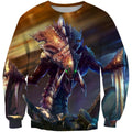 3D All Over Print Zerg Starcraft Hoodie-Apparel-Phaethon-Sweatshirt-S-Vibe Cosy™